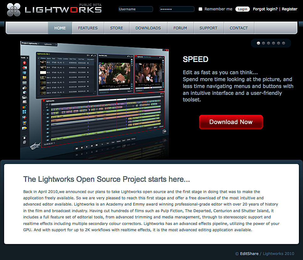 lightworks how to add audio