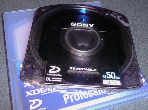 B_NAB07_Sony_XDCAM_50GB