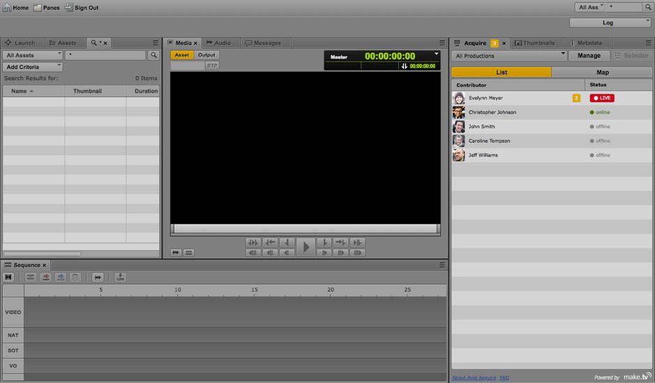 B_0815_Make_TV_Acquire_Avid_Chat