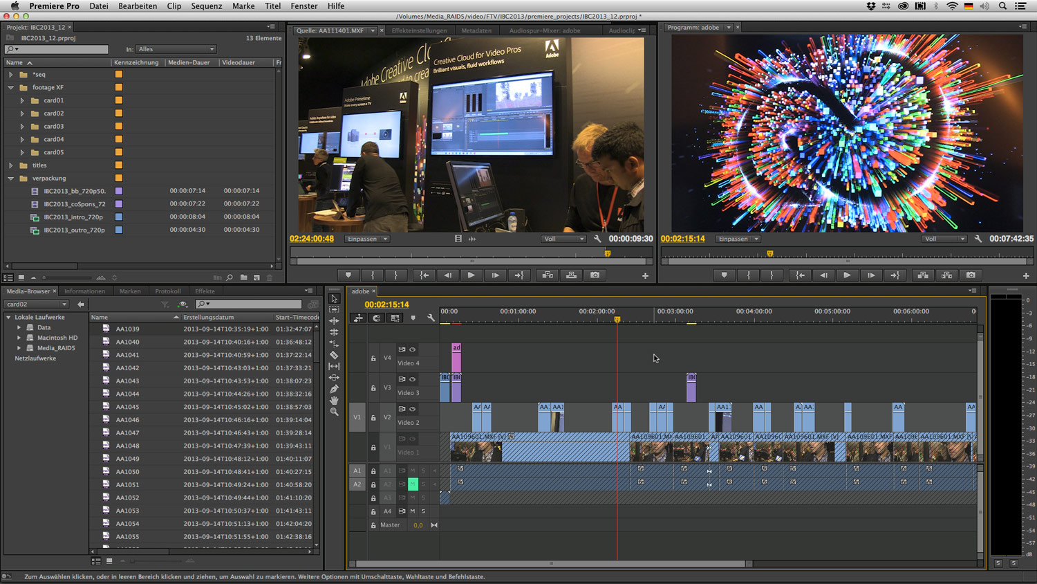 Mobiles Editing mit Adobe Premiere Pro CC - film-tv-video.de