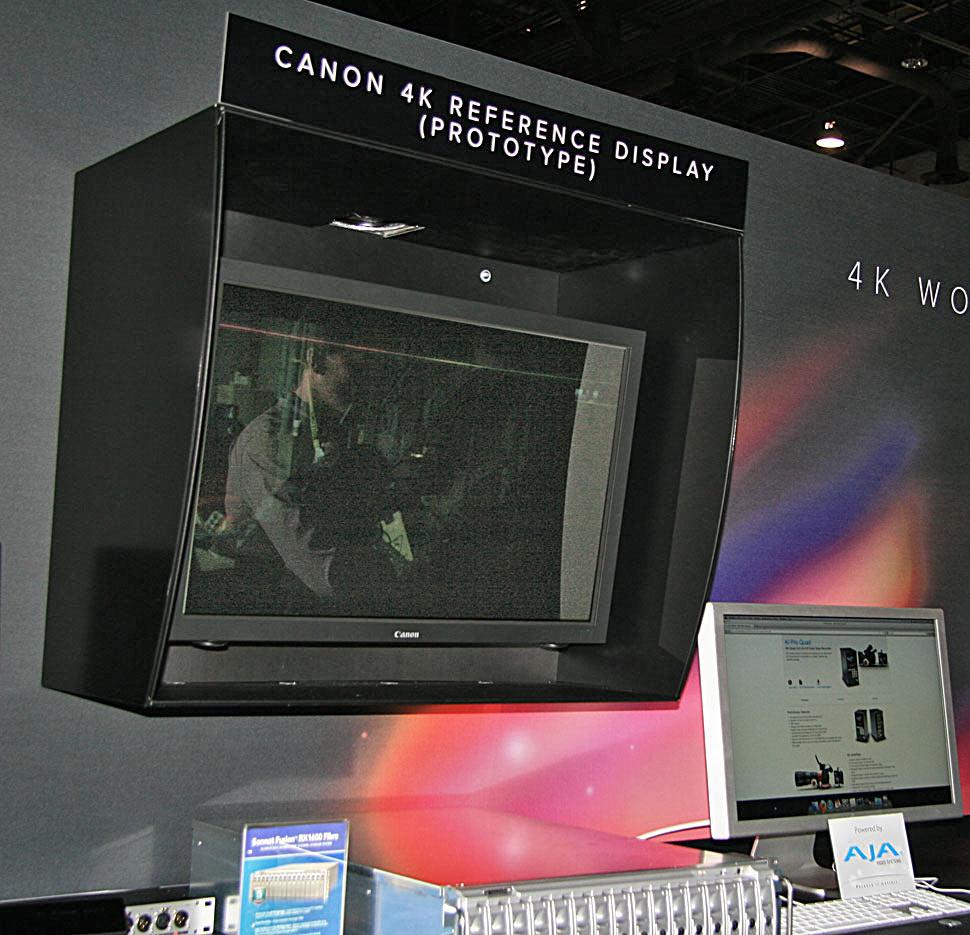 B_NAB12_Canon_4K_Display