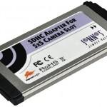 SDHC-Adapter für SxS-Kamera-Slots von Sonnet