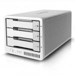 Caldigit T3: kompaktes Thunderbolt-RAID