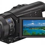 Neuer, kompakter 4K-Handheld FDR-AX100 von Sony