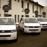 Satcom: fünf KA-SNGs für trimediale News des NDR