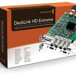 I/O-Karte DeckLink HD Extreme von Blackmagic