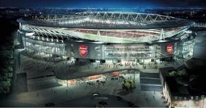 FC Arsenal, Emirates-Stadion
