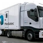 Broadcast Solutions: Zwei neue Ü-Wagen für Mediatec