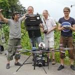 Fliegende Augen: Geräte und Dienstleister