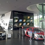 BFE: Medientechnik für Audi Driving Experience Center