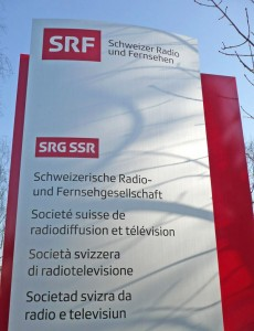 SRF, SRG SSR, Schild