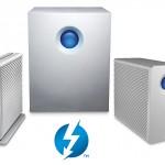 Externe Thunderbolt–Speichersysteme von LaCie jetzt mit 5-TB-Platten