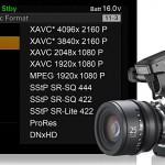 Sony: künftig ProRes und DNxHD bei F5/F55