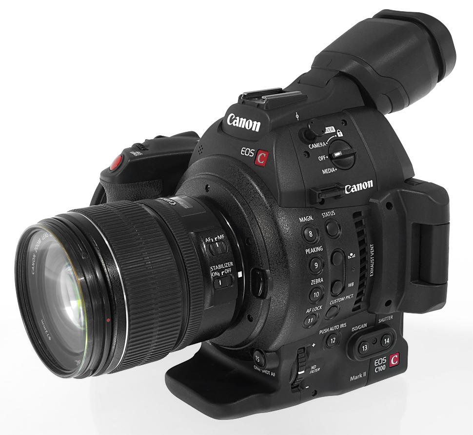 Test: Was bietet die Canon EOS C100 Mark II? - film-tv-video.de