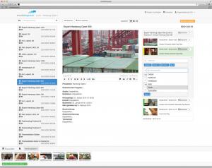 Medialoopster, Screenshot