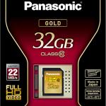 Neue SDHC-Speicherkarten von Panasonic