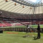 Euro 2012: ABC Products-Kräne im Einsatz