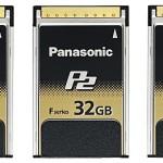 P2-Speicherkarten: Panasonic liefert ab sofort F-Serie aus