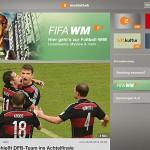 Fußball-WM beflügelt Download-Zahlen der ZDFmediathek-App
