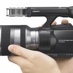 Sony stellt Wechselobjektiv-Camcorder NEX-VG10 vor