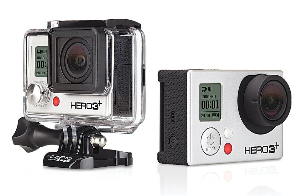 4K-Special Kameras: GoPro Hero 3+ Black Edition