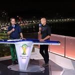 WM-Studio von ARD und ZDF mit Lawo auf Sendung