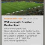 Neuer Rekord: 32,57 Millionen sahen Halbfinale der Fußball-WM 2014