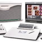 Equipment-Verkäufe von Quantel, Sony, Encoda, Chyron, SHS und Singulus Technologies.