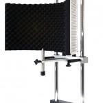 Micco: Mikrofon-Haltesysteme mit Reflexionsschirm