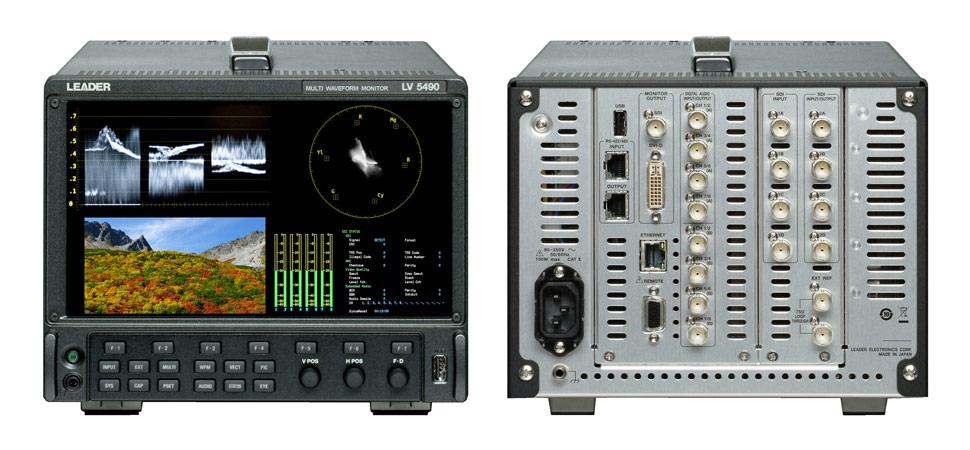 B_0813_Leader-Instruments_LV5490_Waveform-Monitor