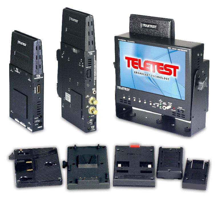 Teletest: LCD-Monitor mit integriertem HDMI-Funkempfänger ...