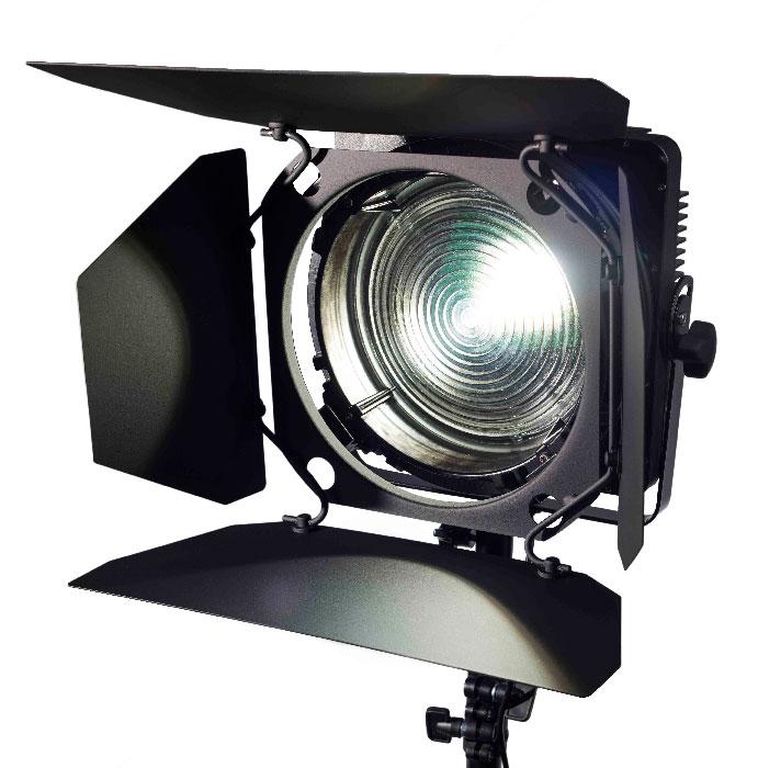 zylight f8 led fresnel stufenlinsen scheinwerfer mit led technik film tv. Black Bedroom Furniture Sets. Home Design Ideas