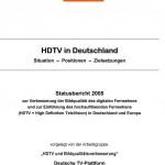 Studie: HDTV in Deutschland