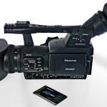 SWR: Videojournalisten mit P2-Handheld HPX171