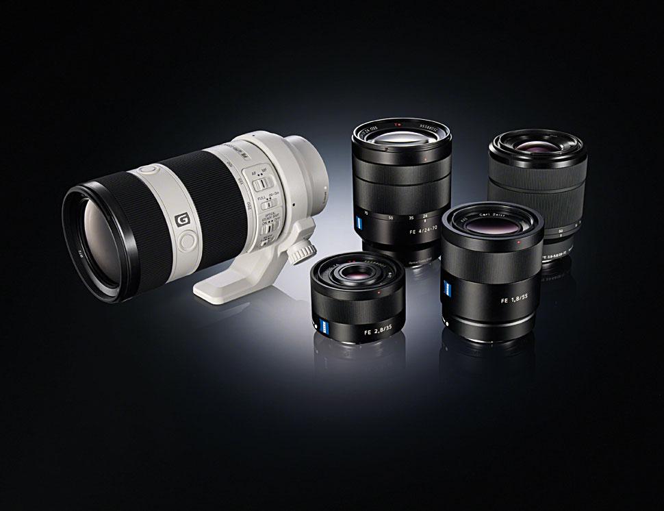 Vollformat-Objektive für E-Mount Kameras - film-tv-video.de