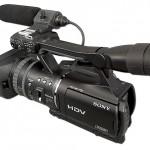 HDV-Camcorder HVR-V1: Draufgesattelt