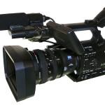 HDV-Camcorder von Sony mit CF-Card-Dockrecorder
