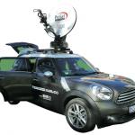 Broadcast Solutions zeigt beim RME kompakten Web-Ü-Wagen auf Basis eines Mini Countryman