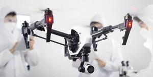 DJI, Inspire, Drohnen-Limits