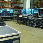 Modulare, mobile Regie-Systeme
