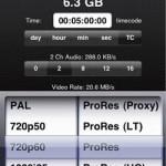 iPhone App von Aja