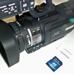 IBC2008: JVC kündigt Camcorder mit SD-Karten-Aufzeichnung an