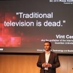 IBC2010: Harris glaubt ans Fernsehen
