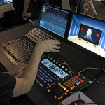 IBC2014-Video: Fairlight zeigt Audiokonsole für 3D-Tonmischung