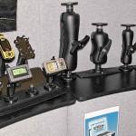 NAB2008: Gerätehalter in unterschiedlichen Größen