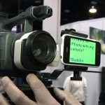 NAB2009: iPhone als Teleprompter