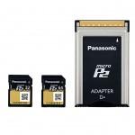 NAB2013: Panasonic führt MicroP2-Karten ein
