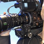 NAB2014: Sony zeigt ENG-Option für Sony F5/F55