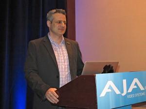 Nick Rashby, Präsident, Aja Video Systems