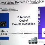 NAB2015: Grass Valley zeigt IP-Workflow mit Cisco